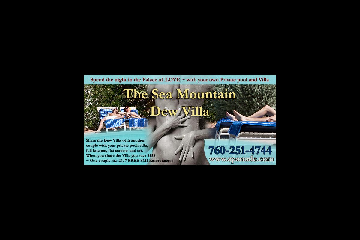 Spa Nude Sea Mountain Dew Villa